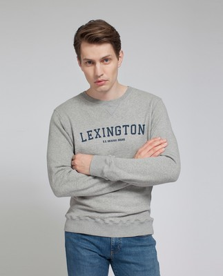 Lucas Sweatshirt, Light Warm Gray