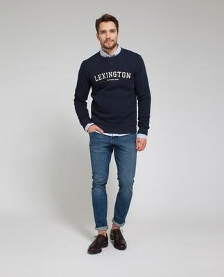 Lucas Sweatshirt, Deep Marine Blue