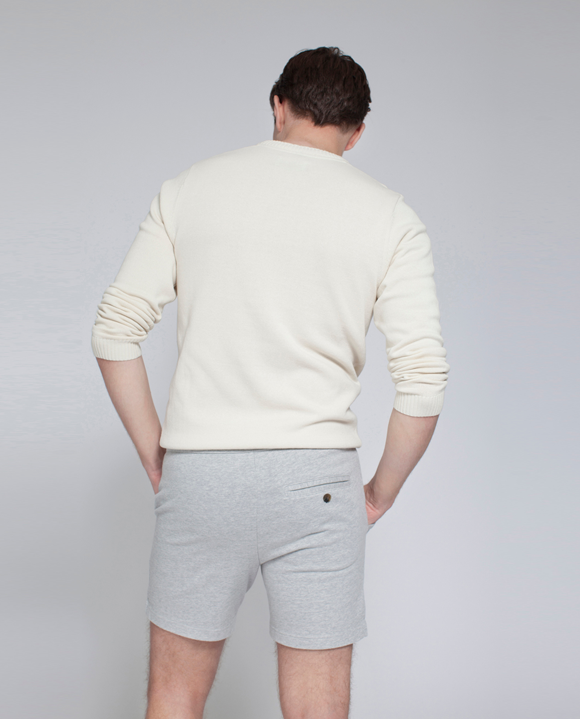 Pete Jersey Shorts, Light Gray