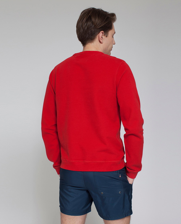 Shane Pique Sweatshirt, Pompeian Red- Coming soon!