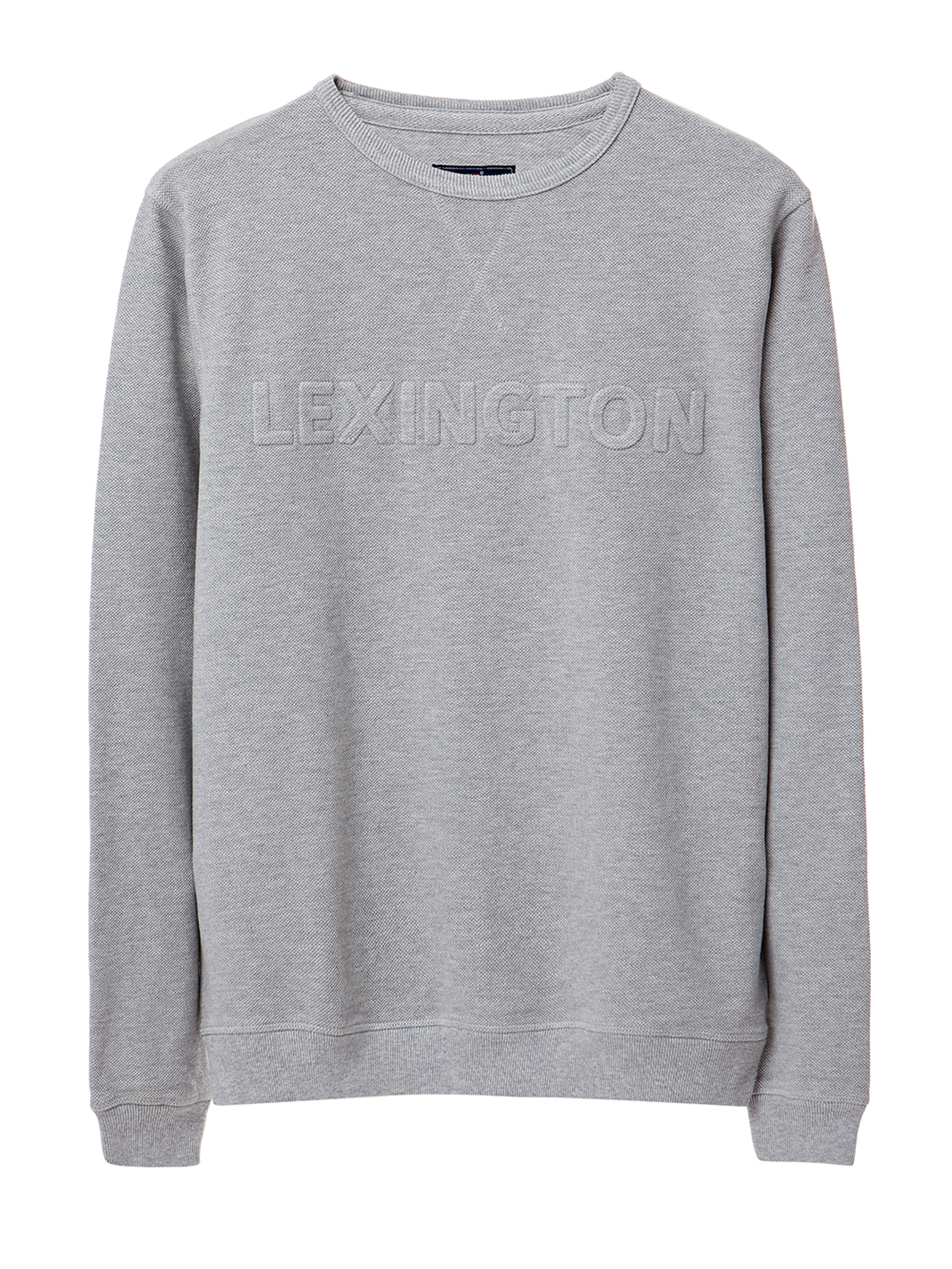 Shane Pique Sweatshirt, Light Gray- Coming soon!