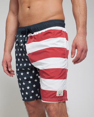 Anthony Swimshorts, Flag Print