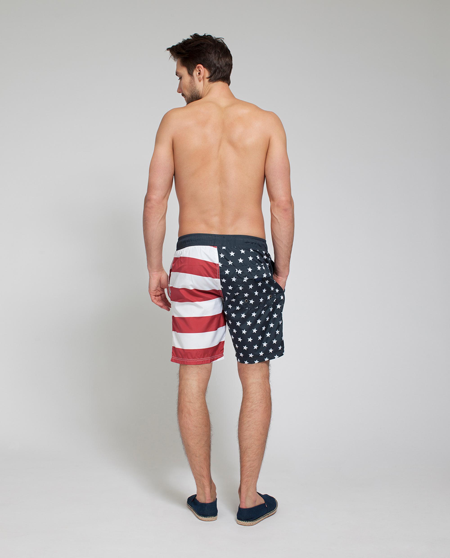 Anthony Swimshorts, Flag Print