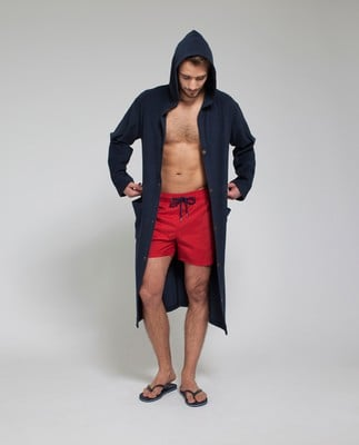 Puck Surfer Robe, Deep Marine Blue