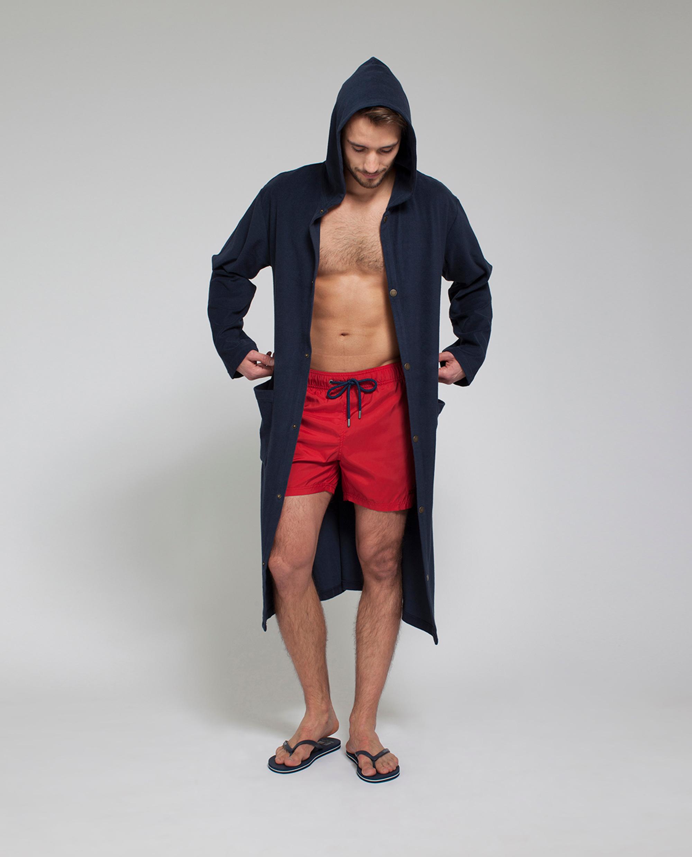 Puck Surfer Robe, Deep Marine Blue