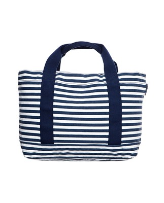 Pacific Tote Bag, White/Blue