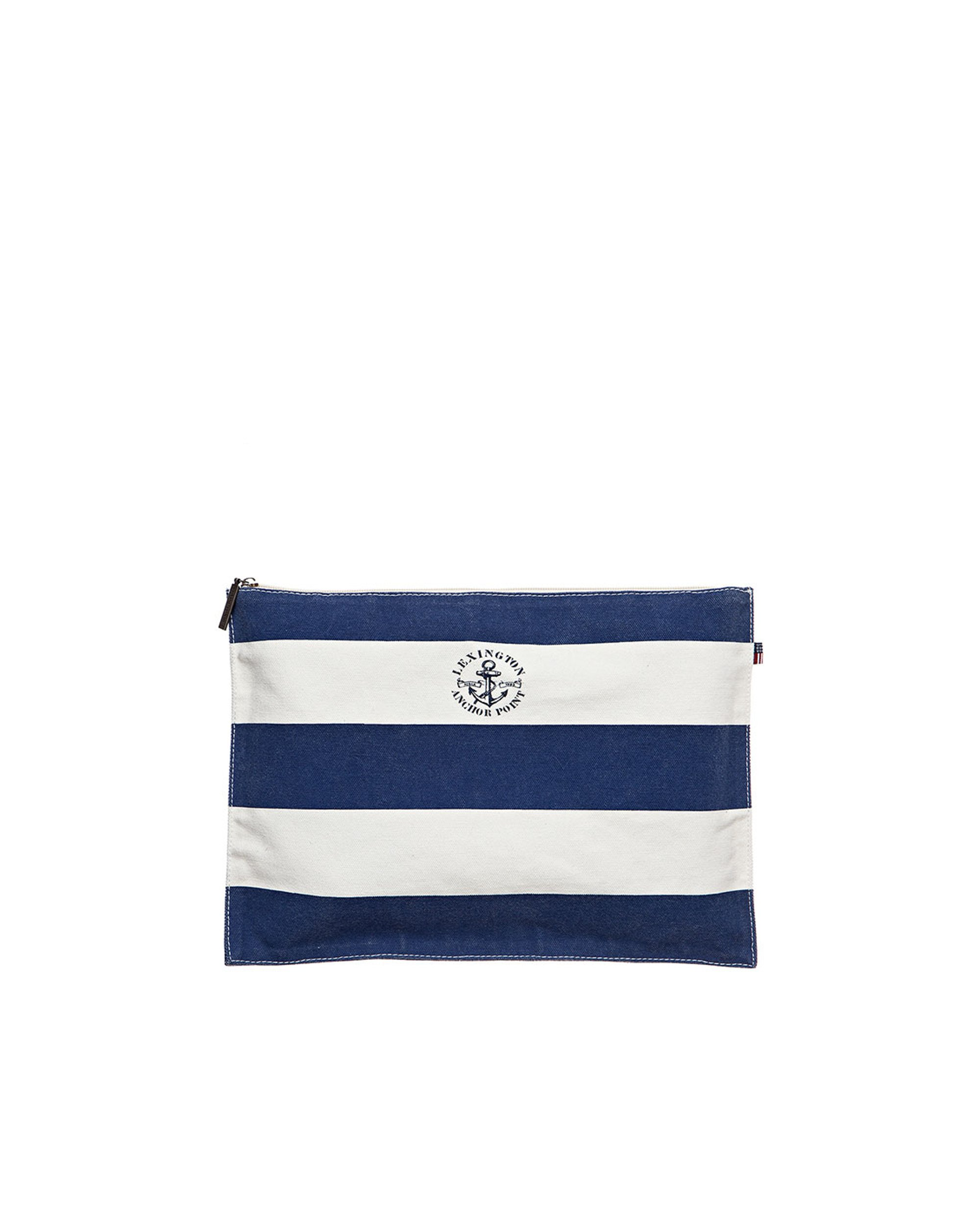Two Mile Bag, Blue/White
