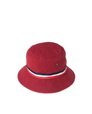 Bridgehampton Bucket Hat, Pompeian Red