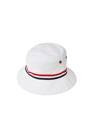 Bridgehampton Bucket Hat, Bright White