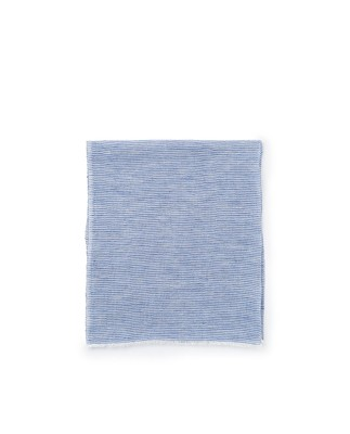 Colombus Scarf, Blue/White