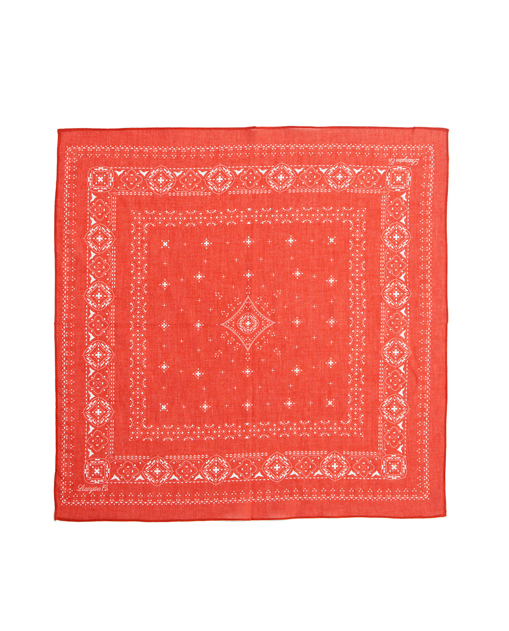 Elay Cotton Voile Scarf, Pompeian Red