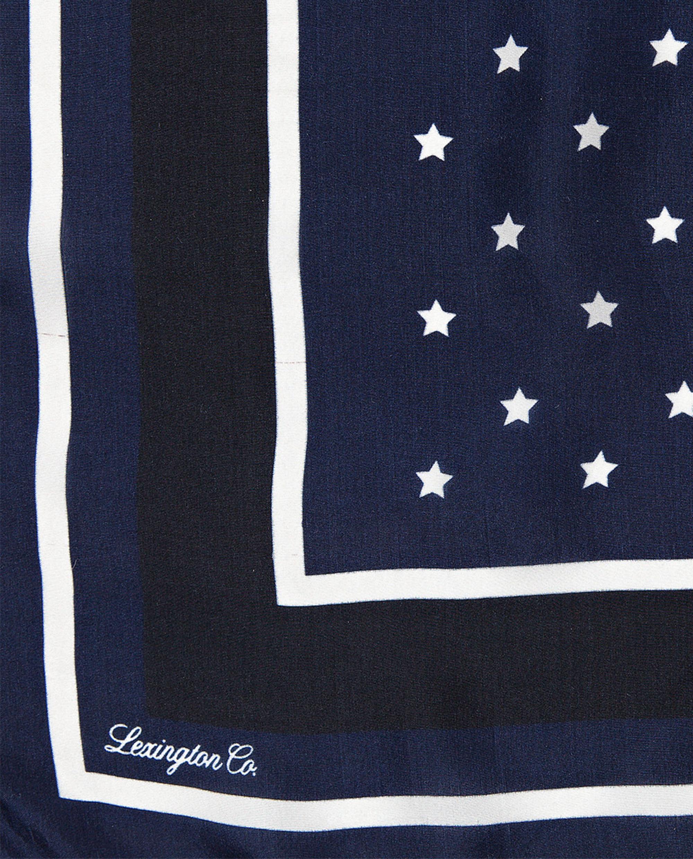 Gardiners Bay Silk Scarf, Star Print