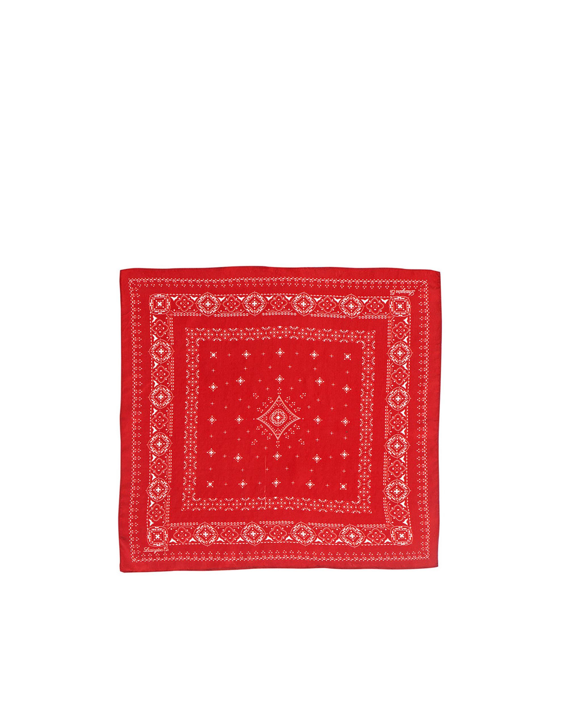 Austin Silk Bandana, Pompeian Red