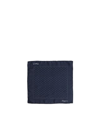 Dunsley Silk Handkerchief, Anchor Print