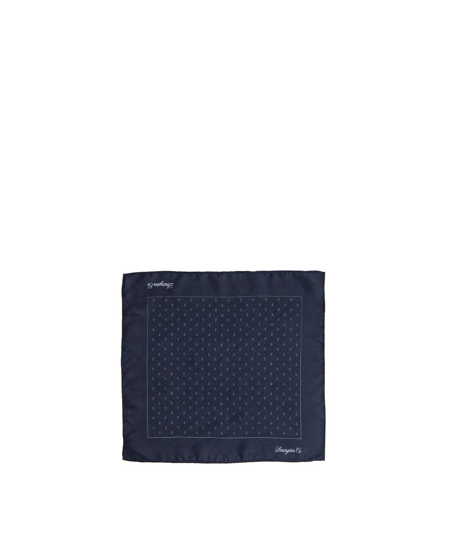 Dunsley Silk Handkerchief, Anchor Print