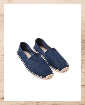 Lexington Espadrillo, Blue Denim - Coming soon!