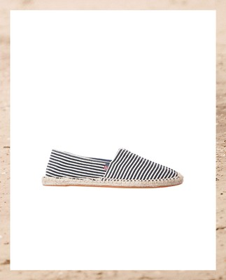 Lexington Espadrillo, Blue/White - Coming soon!