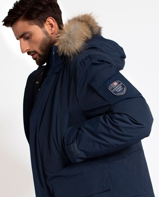 Madison Down Parka, Deepest Blue