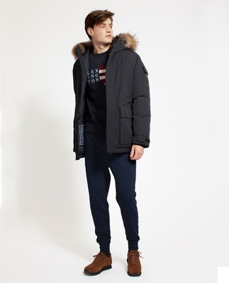 Madison Down Parka, Caviar Black