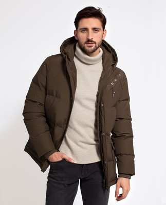 Dave Down Jacket, Hunter Green