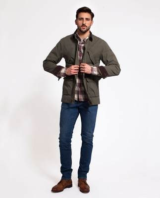 Glenn Field Jacket, Hunter Green