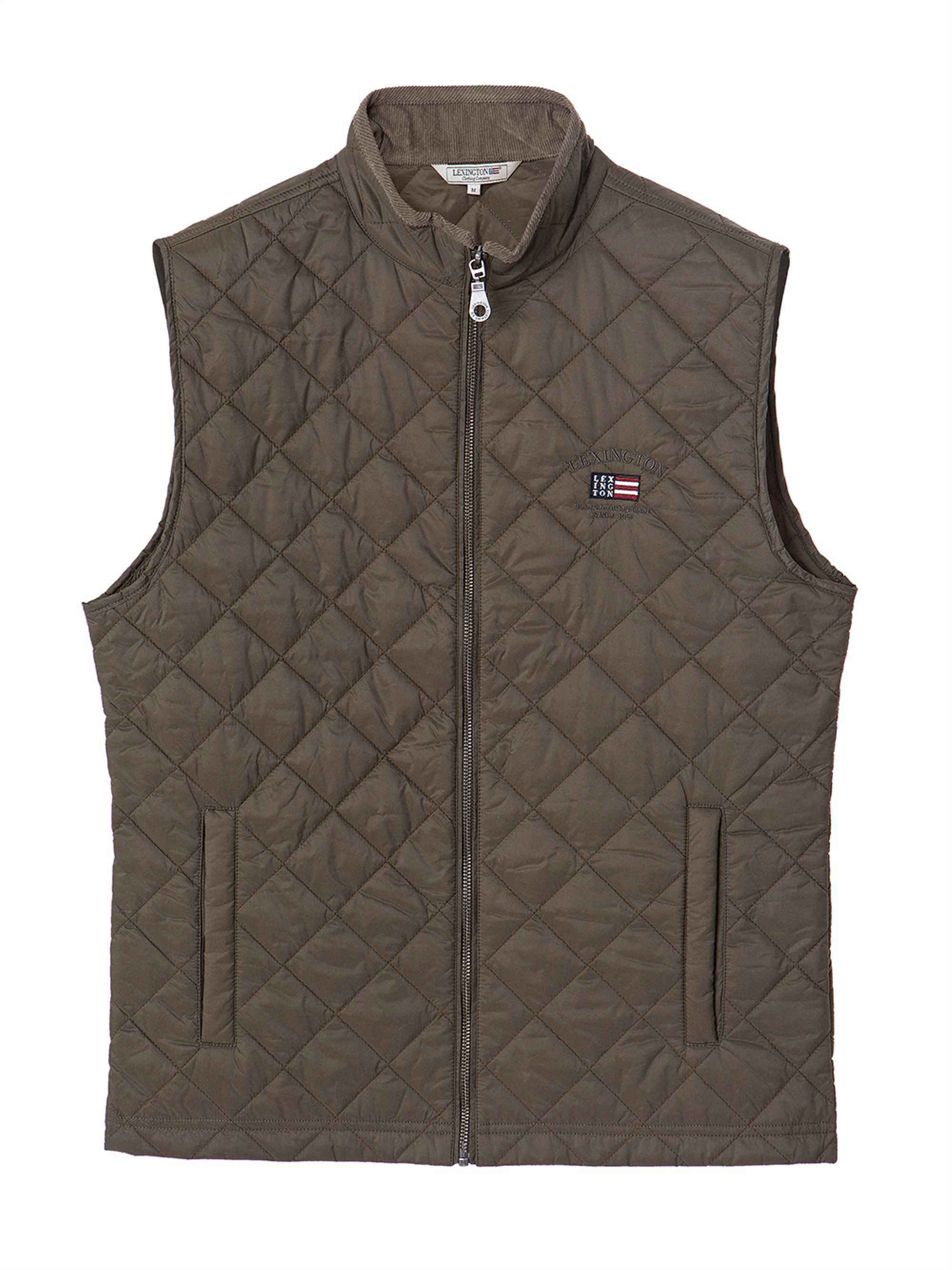 Gregory Quilted Vest, Hunter Green