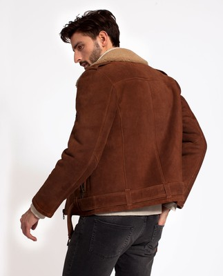 Johnny Biker Shearling Jacket