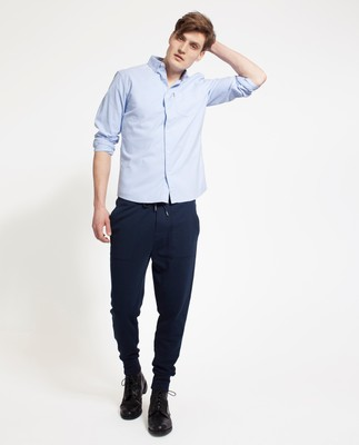 Kyle Oxford Shirt, Light Blue