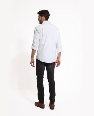 Kyle Oxford Shirt, Bright White