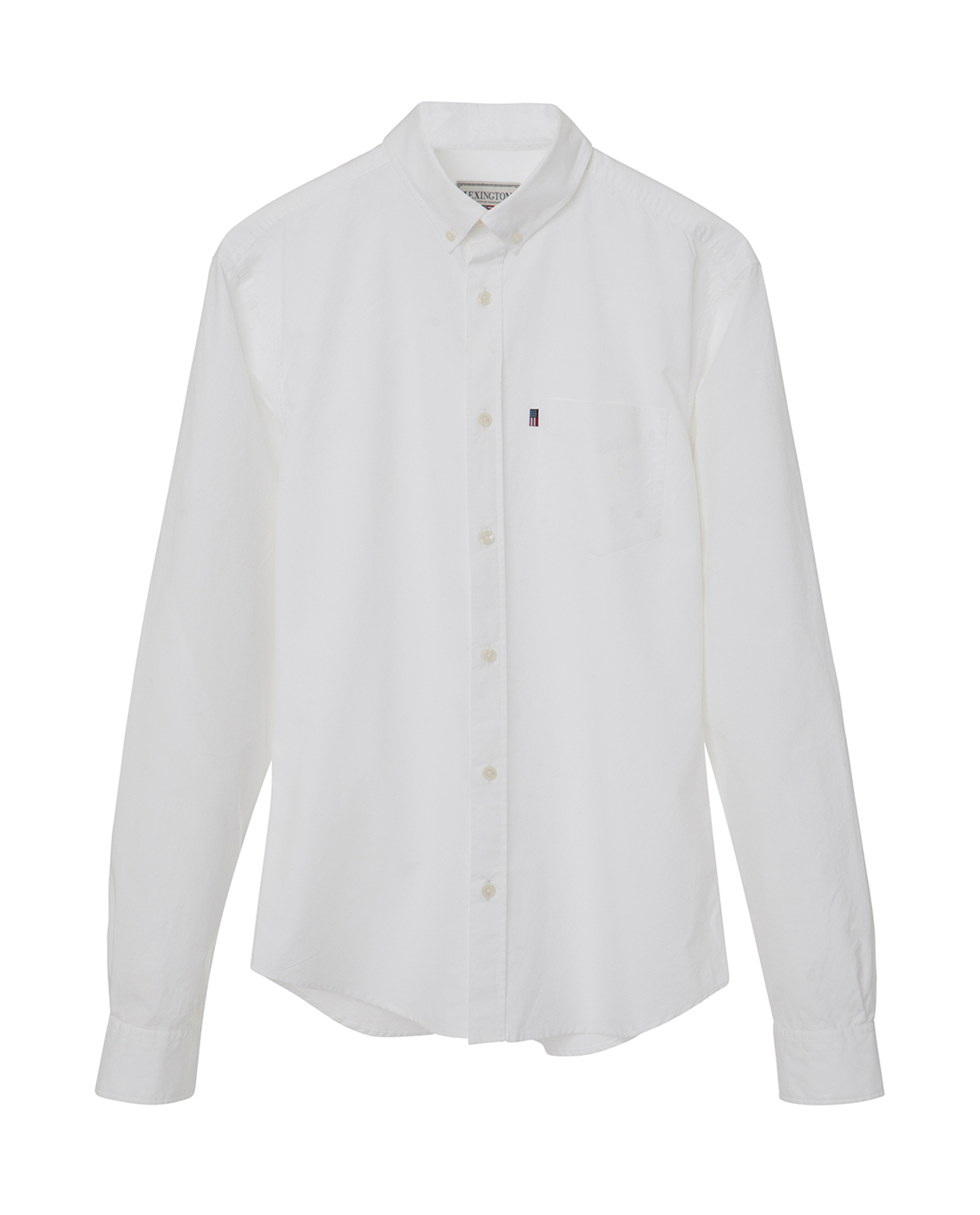 Taylor Poplin Shirt, Bright White