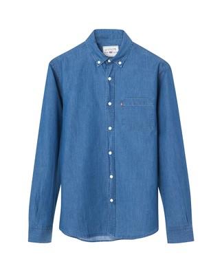 Clive Denim Shirt, Medium Blue