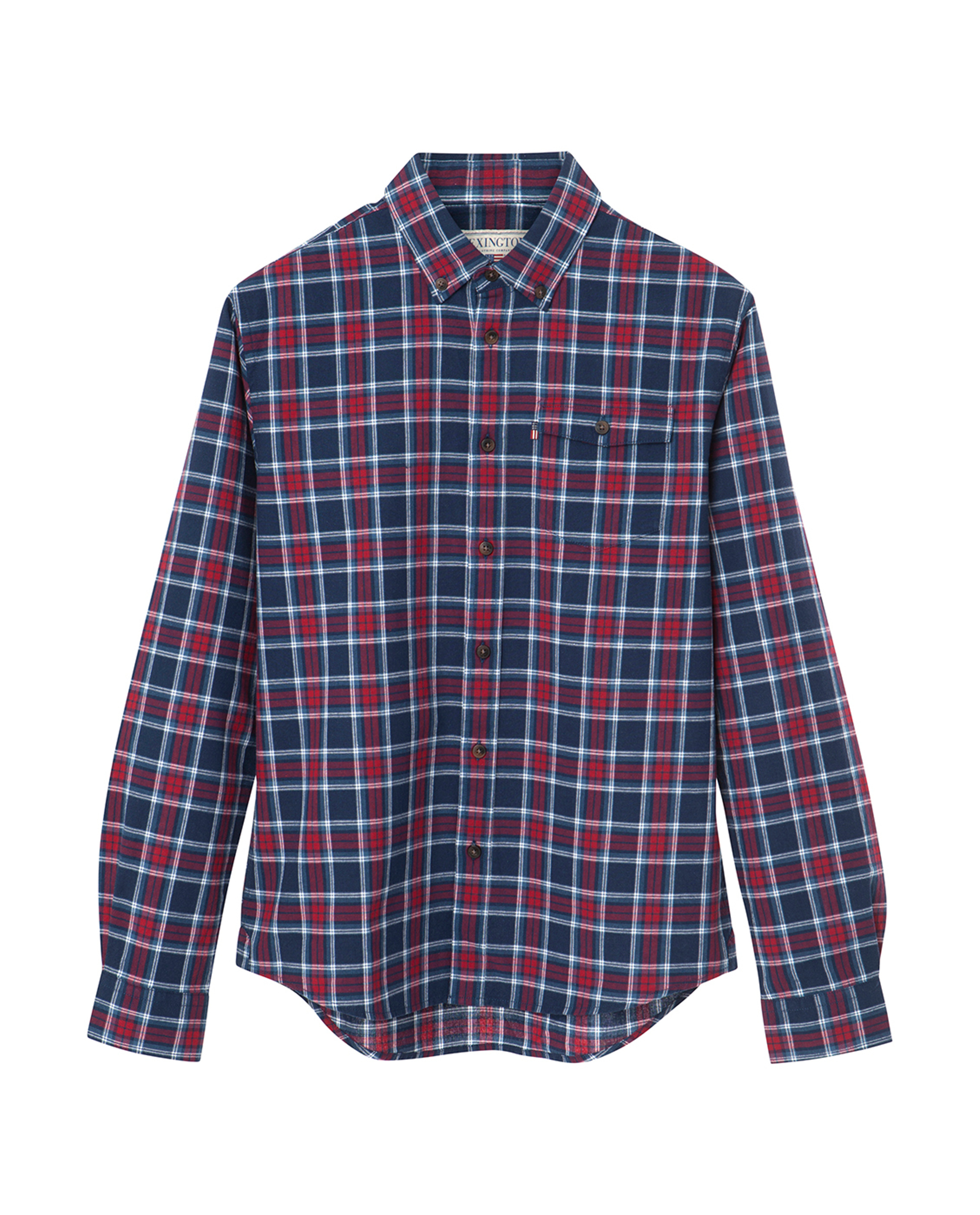 Aaron Checked Shirt, Blue Multi