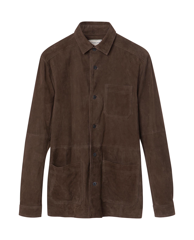 Robert Suede Worker Shirt