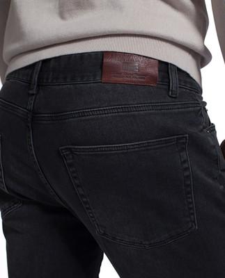 Colin 5-Pocket Jeans, Gray Denim