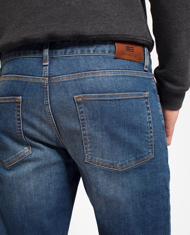 Colin 5-Pocket Jeans, Medium Blue