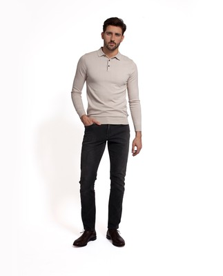 Colin 5-Pocket Jeans, Gray Denim