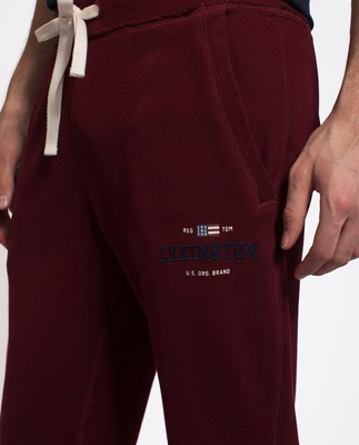 Brandon Jersey Pants, Burgundy Wine