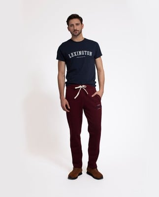 Brandon Jersey Pants, Burgundy Wine
