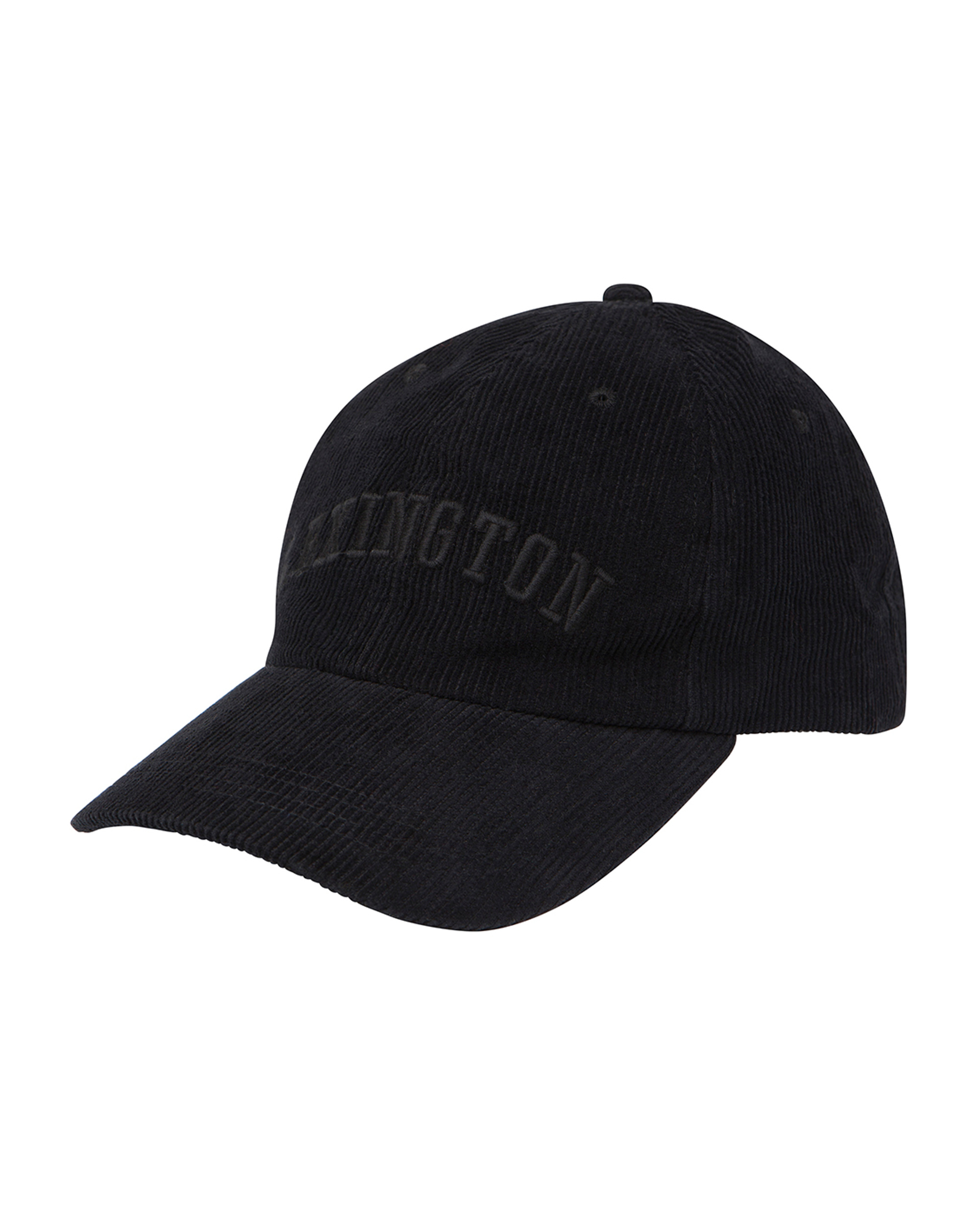 Houston Cord Cap, Caviar Black