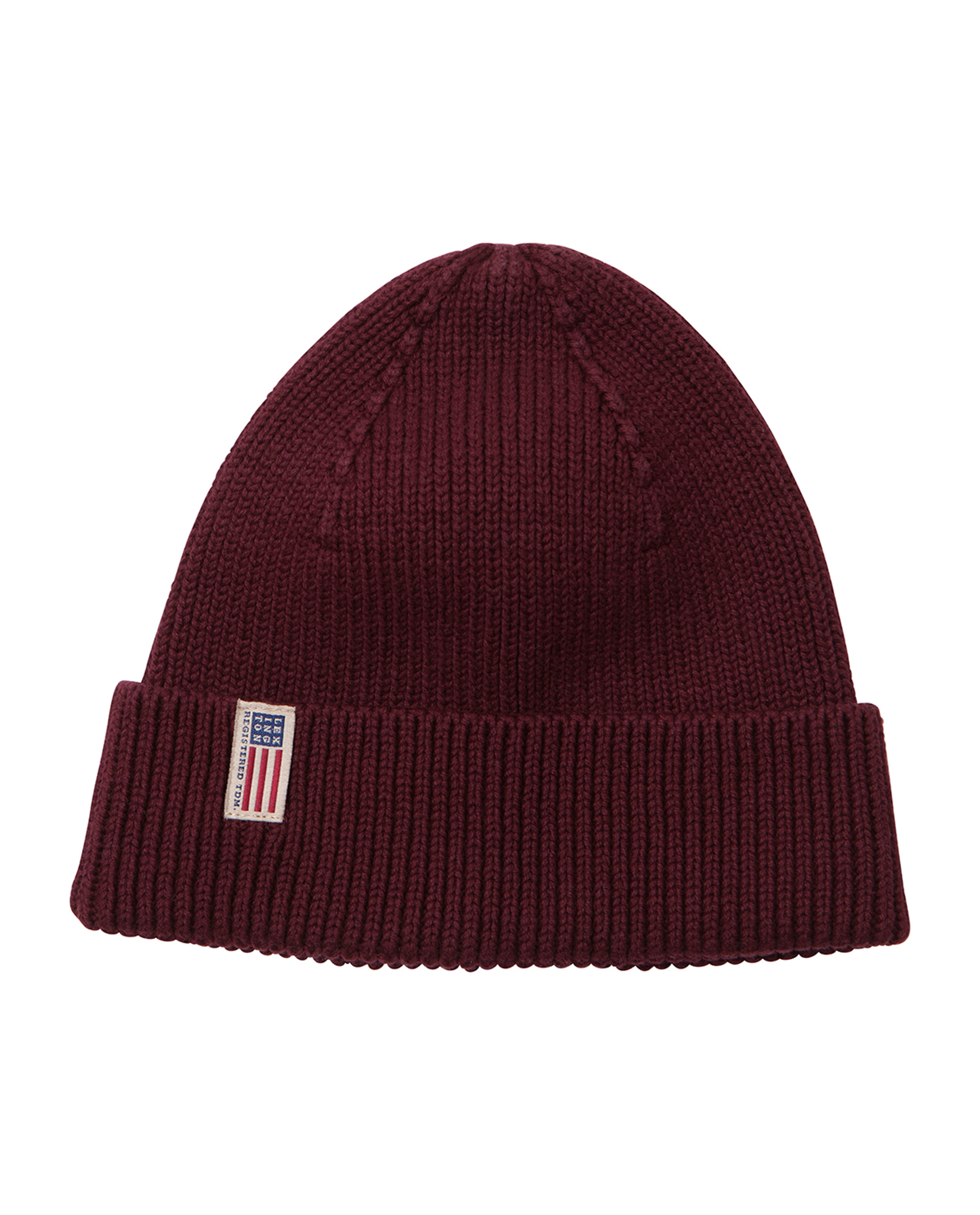Stockton Beanie, Burgundy Wine