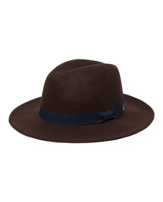 Wichita Wool Hat, Dark Brown