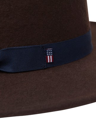 Wichita Wool Hat, Dark Brown