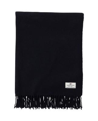 Aurora Wool Scarf, Deep Marine Blue