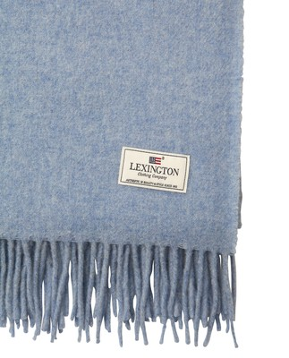 Aurora Wool Scarf, Light Blue