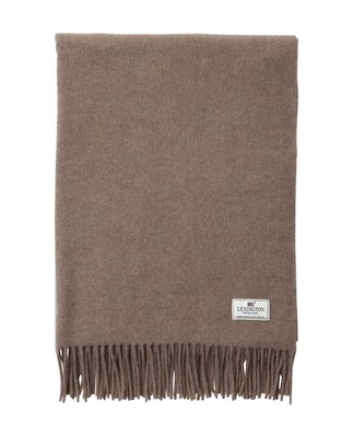 Aurora Wool Scarf, Brown
