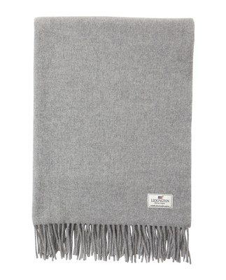 Aurora Wool Scarf, Light Gray