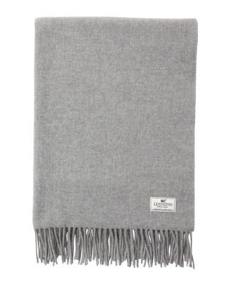 Aurora Wool Scarf, Light Gray