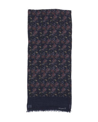 Burlington Wool Scarf, Paisley Print