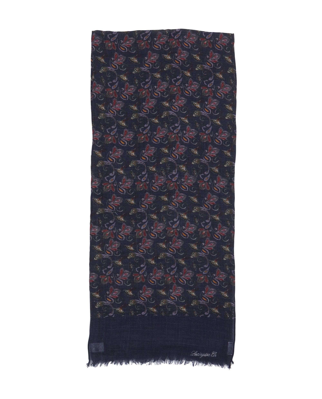 Burlington Wool Scarf, Paisley Print