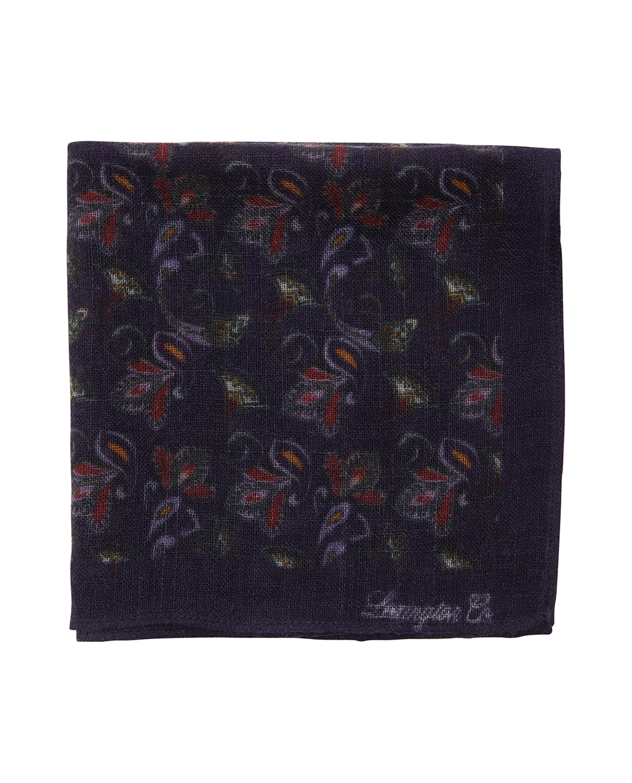 Dunsley Wool Handkerchief, Paisley Print